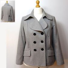 Marks and Spencer Wool Blend Double Breasted Outdoor Women's Coats & Jackets