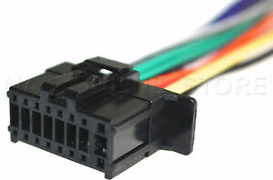WIRE HARNESS FOR PIONEER DEH-S5000BT DEHS5000BT *PAY TODAY SHIPS TODAY*