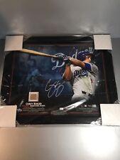 COREY SEAGER LE Autograph 16x20 Dodgers Photo Dodgers Stadium Dirt Fanatics auto