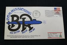 NAVAL COVER 1977 MACHINE CANCEL COMMISSIONING USS BATON ROUGE (SSN-689) (2880)