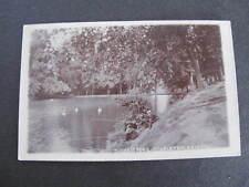 Duchess Pond Stapleton Bristol  RPPC Postcard Fishing