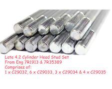 4.2 E-type Cylindre Head Stud Set plus tard 4.2 moteur