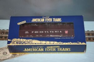 American Flyer No. 6-48570 Pennsylvania Gondola w/ Coil Covers - NEW - S Gauge