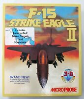F-15 Strike Eagle II - IBM/PC Big Box Combat/Flight Game/Software - MicroProse