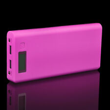 Dual USB 5V 2A 8x 18650 Power Bank Battery Case Box Charger For iPhone Android
