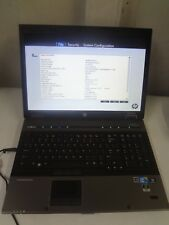"**HP EliteBook 8740w 17"" Core i7 2.67Ghz  8GB/160GB Wewbcam LINUX Laptop + AC"