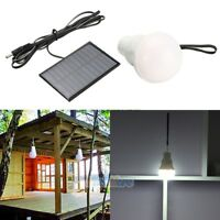 Portable Bulb Outdoor & Indoor Solar Powered LED Lighting System Solar Panel