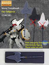 Metal Weapon Tomahawk AX grey color for Bandai TV 1/100 MG Tallgeese Gundam