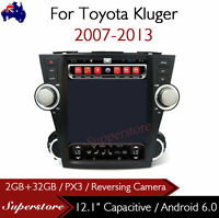 """12.1"""" tesla style  Android  Car Player Navi GPS For Toyota Kluger 2007-2013"""