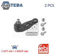 2x FEBI BILSTEIN LOWER SUSPENSION BALL JOINT PAIR 01521 I NEW OE REPLACEMENT