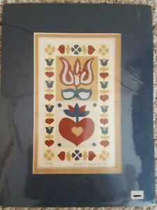 VTG SUZI McCORD MATTED SIGNED 1985 LIMITED EDITION SERIGRAPH PICTURE WALL ART