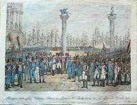Venezia Rivista di Napoleone a Venezia 1807 Edit. 1845 (P299) Come da foto (le d