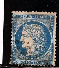 FRANCE 37 VARIETES:grosse tache devant le cou et devant l'oeil, cote 15€+++,TB