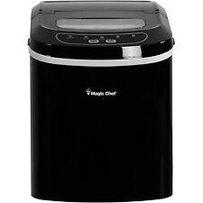 Magic Chef Mcim22B Portable Home Countertop Ice Maker, 27 Pounds Per Day, Black