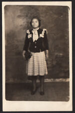 New listing Sweet Face Beauty Sunday Dress Black Woman Smiles ~ 1930s Vintage Photo