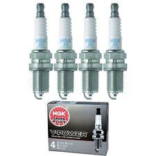 4 x NGK V-Power Plug Spark Plugs 1233 BPR5EY 1233 BPR5EY Tune Up Kit