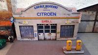 Garage Shell Citroën 1/43°