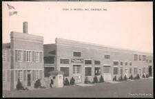 CRISFIELD MD Chas D Briddell Inc Steelsmiths Vintage B&W Postcard Old Maryland