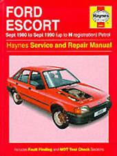 1981 Ford Escort Car Service & Repair Manuals