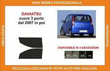 pellicola oscurante vetri dahiatsu cuore 3p dal 2007 kit anteriore