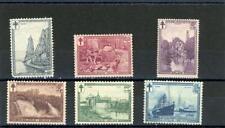 Belgium 1929  Scott# B93-8 og Hinged