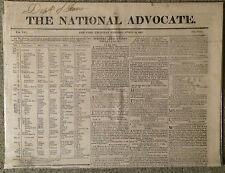 1819 Newspaper/Auctioneers & Auctions Listings