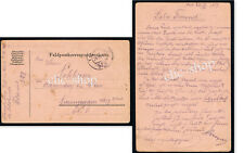 1 FELDPOST KARTE - 529 -1917 POSTA DA CAMPO PRIMA GUERRA KUK WW1 WK1