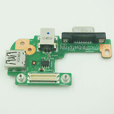 For Dell Inspiron N5110 DC Power Jack DQ15DN15 CRT VGA USB Board 48.4IF05.0111