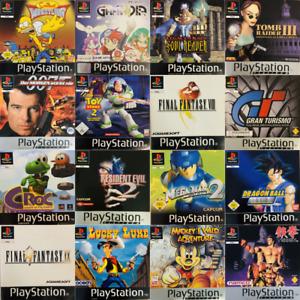 Playstation 1 Spiele PS1 - Top-Games zur Auswahl ⚡⚡ BLITZVERSAND ⚡⚡