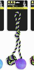 Strong Rubber Rope Toy. Dog Tough Tug Strong Chew Play Toy Healthy Teeth Gums.