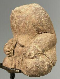 Ancient Indonesia Majapahit terracotta Deity Headless Body ca 13th to 15th c. AD
