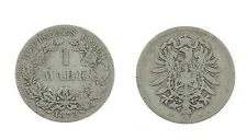1 Mark 1873 D - Silber - Original Münze