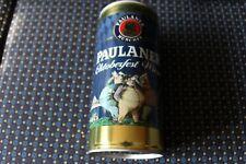Paulaner Oktoberfest Quart Empty Beer Can Opened from bottom - Mint!