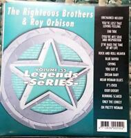 LEGENDS KARAOKE CDG RIGHTEOUS BROTHERS & ROY ORBISON OLDIES #55 16 SONGS CD+G