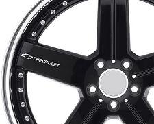 6 x Stickers for Wheels fits Chevrolet Camaro SS Corvette Captiva Emblem Logo