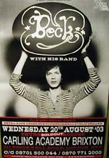 Beck With His Band - Brixton Academy Giant Poster