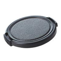 5X(Strukturierte schwarze Kunststoff 52mm Objektivdeckel Deckel für Kamera N QP