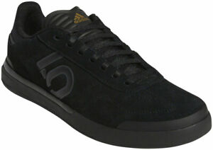 Five Ten Sleuth DLX Men's Flat Shoe: Black/Gray Six/Matte Gold 11.5
