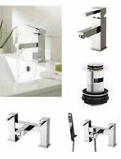 Brass Single Lever Deck Mounted Bathroom Taps