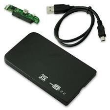 2.5 INCH SATA USB 2.0 HARD DRIVE ENCLOSURE EXTERNAL LAPTOP DISK HDD CASE BLACK