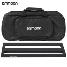 ammoon DB-2 Portable Guitar Pedal Board Aluminum Alloy with Carrying Bag R4K5