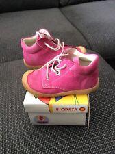 ricosta pepino Mädchen Schuhe Gr. 22 pink, Modell Cory, Leder