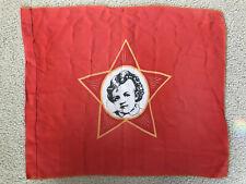 """USSR Russian Soviet Octobrist COMMUNIST YOUTH BANNER Baby Lenin Flag 18""""x21"""""""