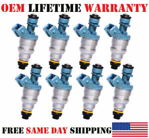 1994-1997 Mercedes-Benz S420 4.2L V8 OEM Bosch Fuel Injectors Set of 8