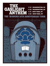 Gaslight Anthem Reunion Tour 59 Sound Poster Brian Fallon Hellgate