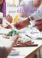 Petits plats pour étudiants / Editions Larousse / NEUF