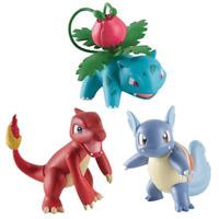 Tomy Pokemon Bataille Pose Figurines Ivysaur/Charmeleon/Wartortle