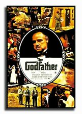 24x36 14x21 Poster The Godfather Movie Gangsters Custom Art Gift T-1829