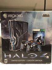 Microsoft Xbox 360 Halo 4 Limited Edition 320GB Blue Console BUNDLE