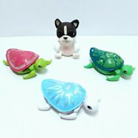 Little Live Pets Green & White Turtles And White  Bulldog Electronic Toy Pets